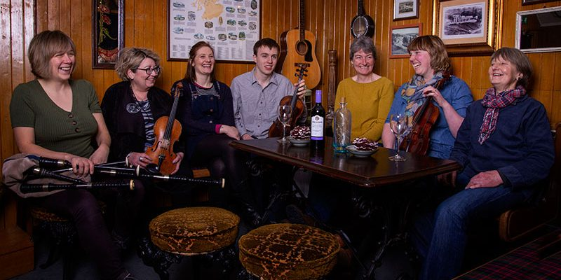 Sutherland Sessions: Trad Club of the Year 2019 The group is bringing first-class musicians to local venues accross Sutherland and has received the 'Club of the Year 2019' at the Scots Trad Music Awards.