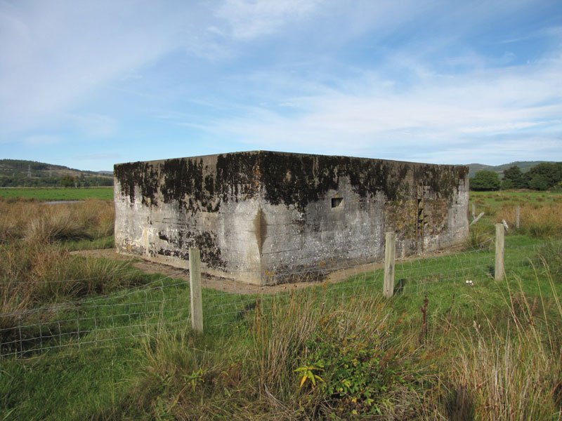 Second World War pillboxes
