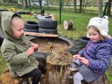 Local children have been busy this term looking, exploring, researching and experimenting the world around them...